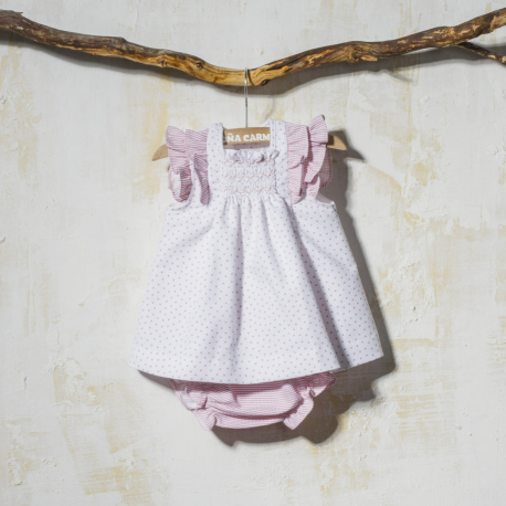 SMOCK DRESS WITH PANTIES KIT