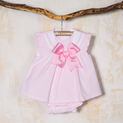 BABY DRESS WITH PANTIES GRUMETE
