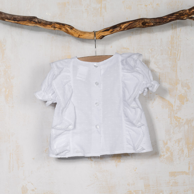 SHORT SLEEVED SHIRT ZANITA
