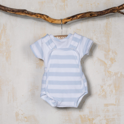 BOY DUNGAREE SET NAVIO