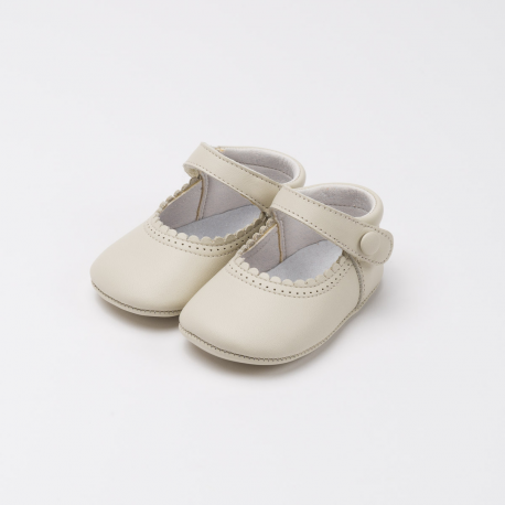MARY JANE SHOES WITH VELCRO STRAP FOR BABIES