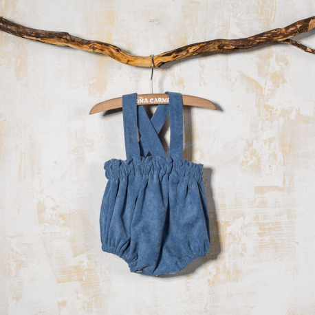 BABY ROMPER WITH STRAPs GOFRE
