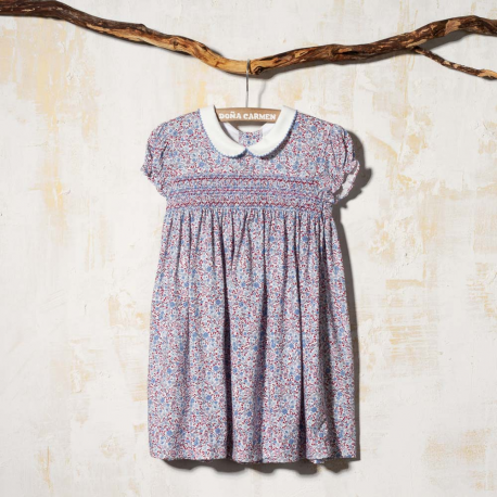 SMOCKED DRESS NINFA