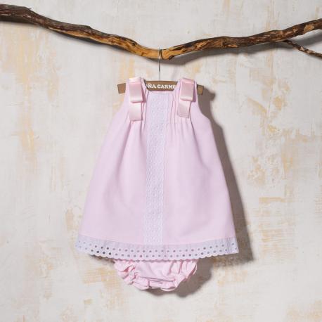 BABY DRESS WITH PANTIES POLEO