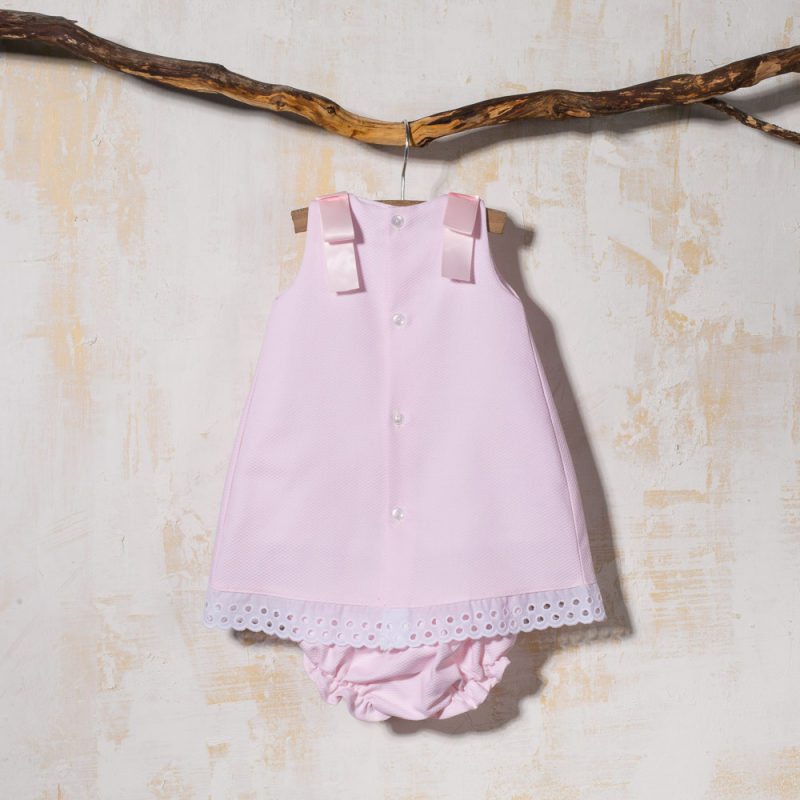 BABY DRESS WITH PANTIES POLEO