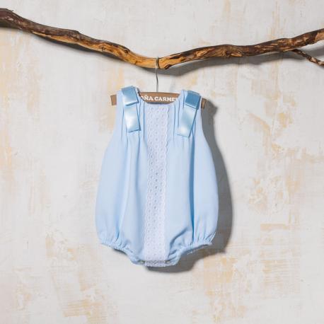 BLUE BABY ROMPER POLEO