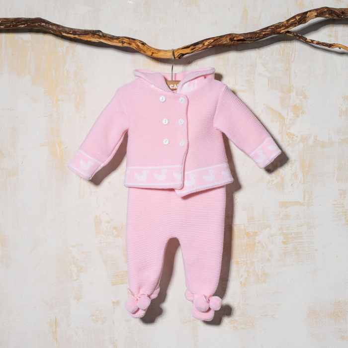 PINK KNITTED SET PATOS