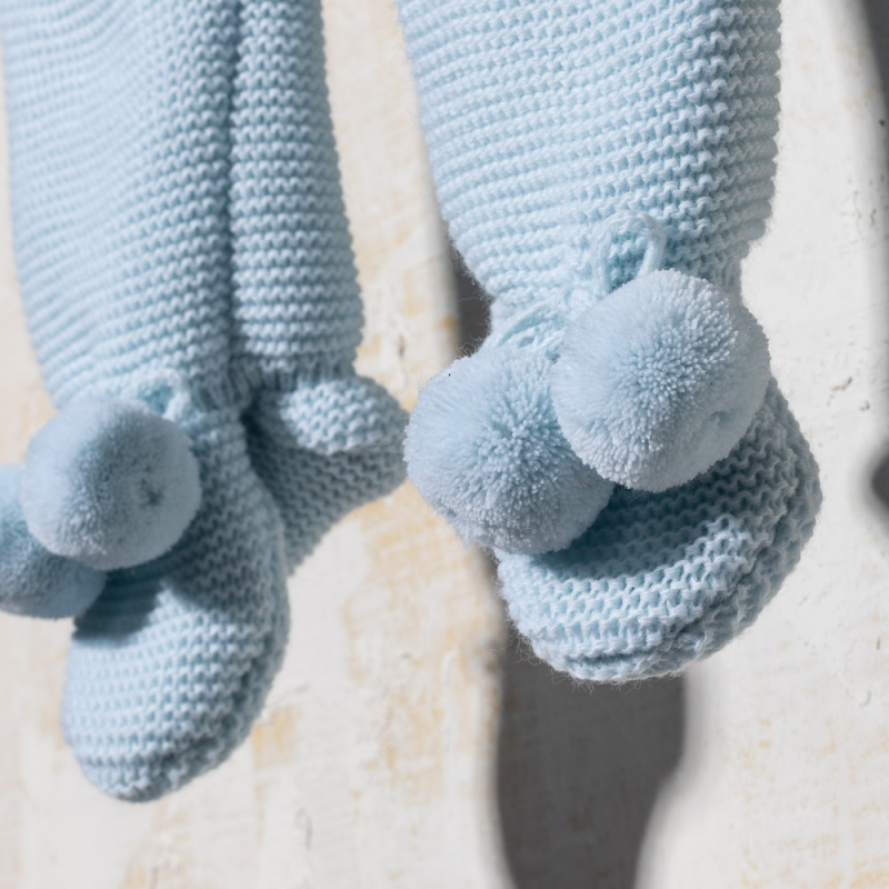 BLUE KNITTED SET PATOS