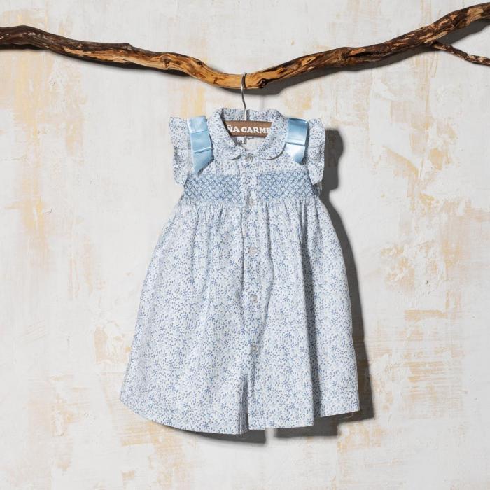 SMOCK BABY DRESS PUIG