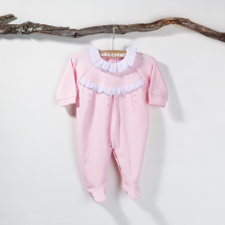 PINK BABY NIGHT SUIT ALGODON POMELO