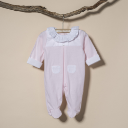 PINK COTTON SLEEPSUIT ZOGUES