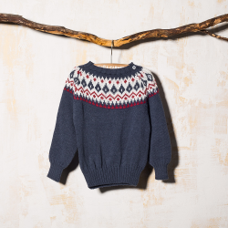 NAVY SWEATER DRAPER CONDE