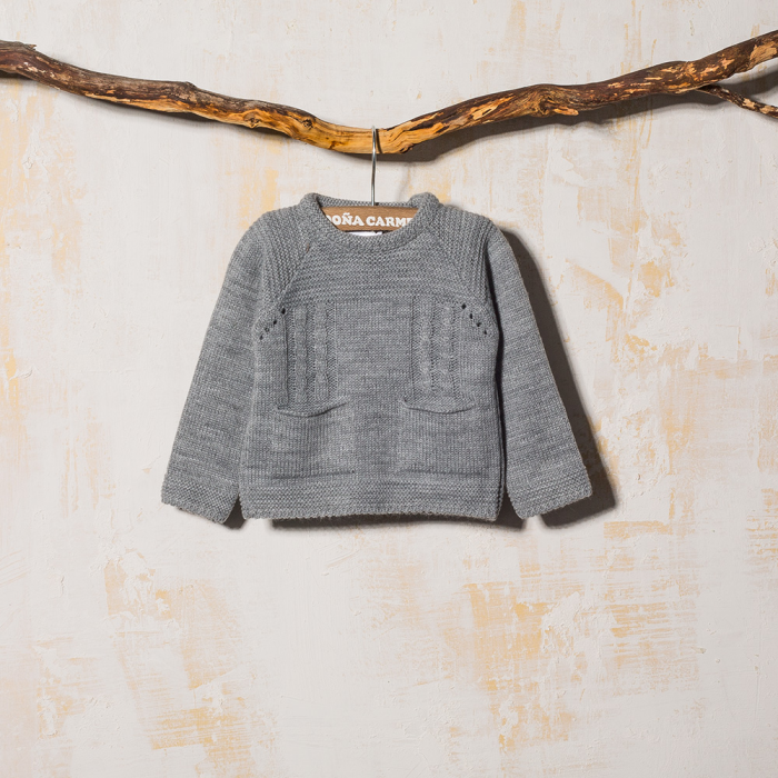 GRAY SWEATER POLIX