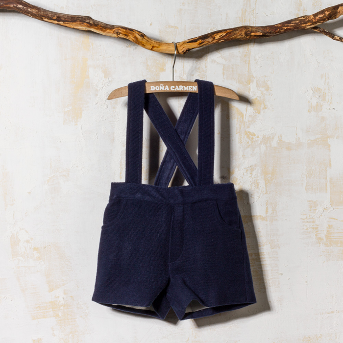 SHORT WITH STRAPS PAÑO