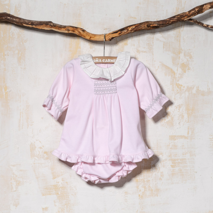 BABY DRESS WITH PANTIES RUEDA