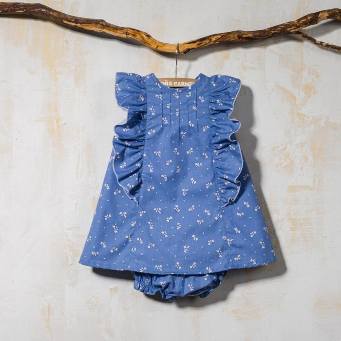 BABY DRESS WITH PANTIES LACITOS