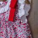 FLORAL DRESS WITH PANTIES ARTES