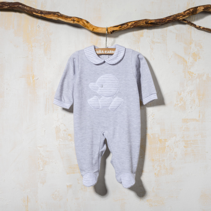COTTON BABY SLEEPSUIT DIQUE