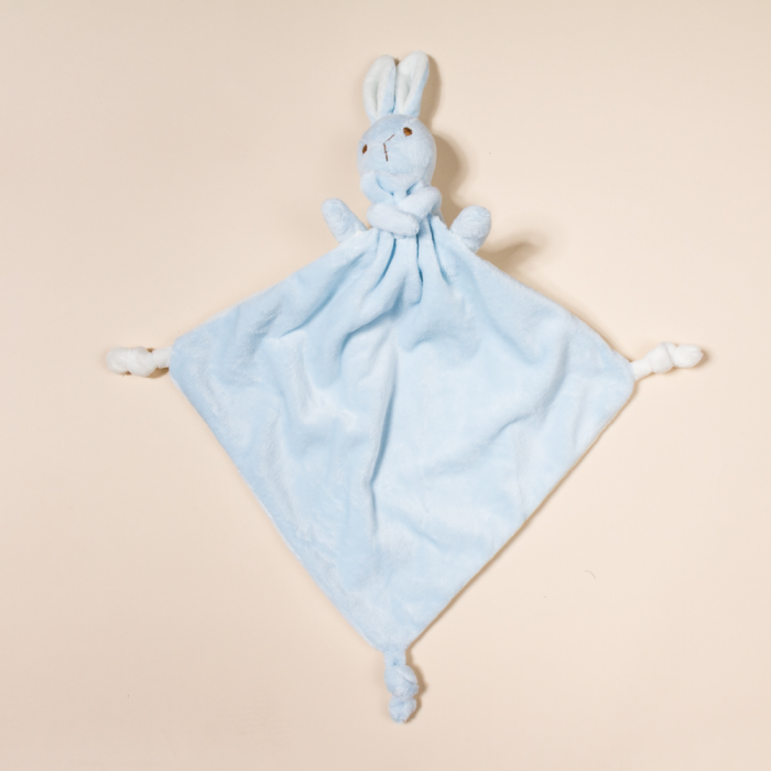 "SOFT TOUCH BABY COMFORTER  ""BUNNY"""