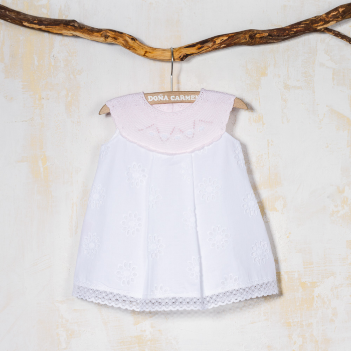 PINK BABY GOWN LEIRA