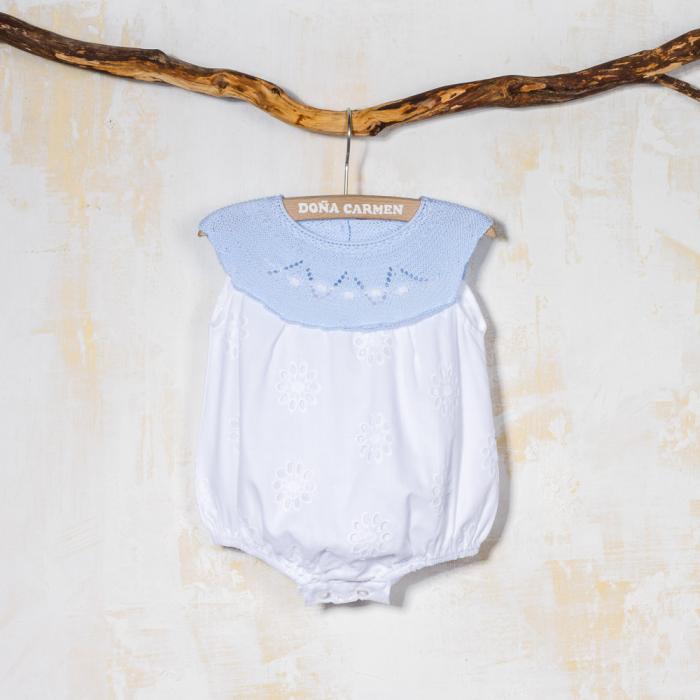 BLUE BABY ROMPER LEIRA