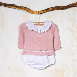 PINK KNITTED SET CHILE