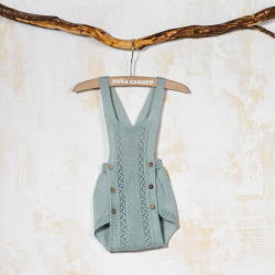 KNITTED BLOOMER DUNGAREE TRICOT