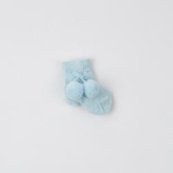 calcetin-pompon-azul