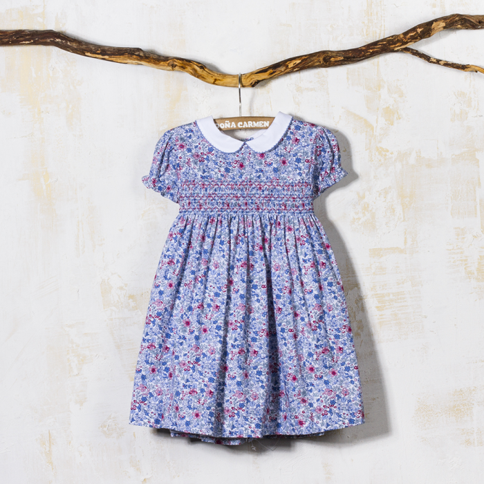SMOCKED DRESS TOPACIO