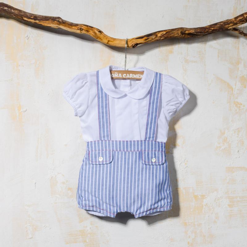 Blanca Niño Con Tirantes Corto Camisa A Y Juego Para Conjunto Pantalón nxZw8