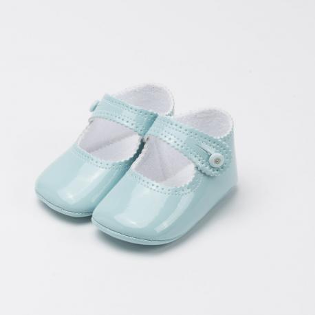 mercedita-charol-azul