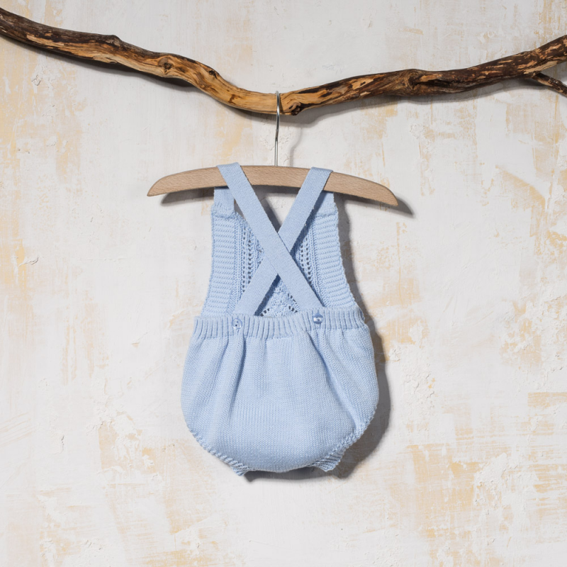 KNITTED DUNGAREES BOLIVIA