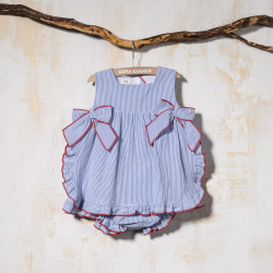 SMOCKED DRESS  WITH PANTIES CARLA