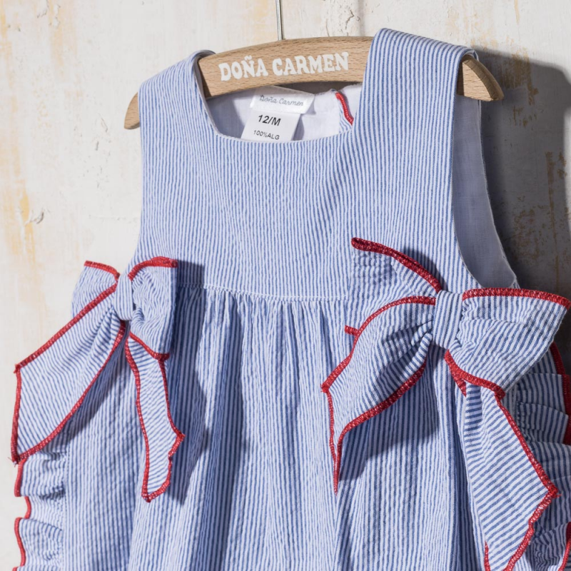 SMOCKED DRESS  WITH PANTIES CARLA