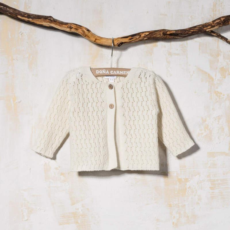 KNITTED CARDIGAN ESPIGA