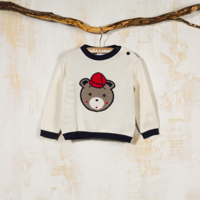 SWEATER TEDDY BEAR