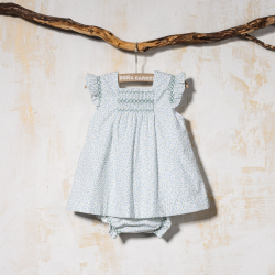 SMOCKED DRESS WITH PANTIES ARPA