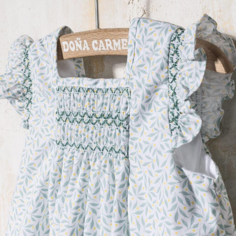 SMOCKED DRESS WITH PANTIES ARPA