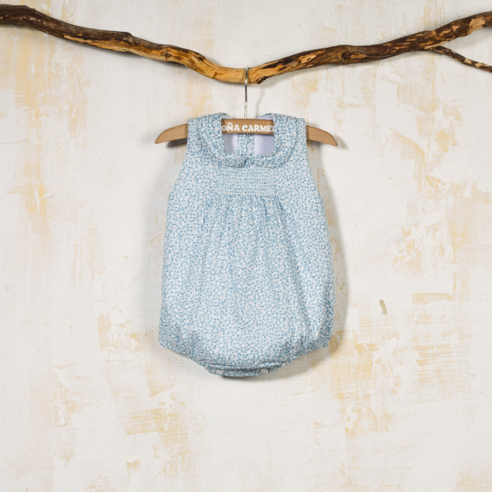 SMOCKED BABY ROMPER ARPON
