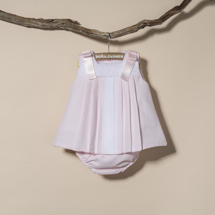 BABY DRESS WITH PANTIES CALERA