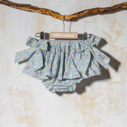GIRL FRILLY BLOOMER WITH BOWS CAMPO