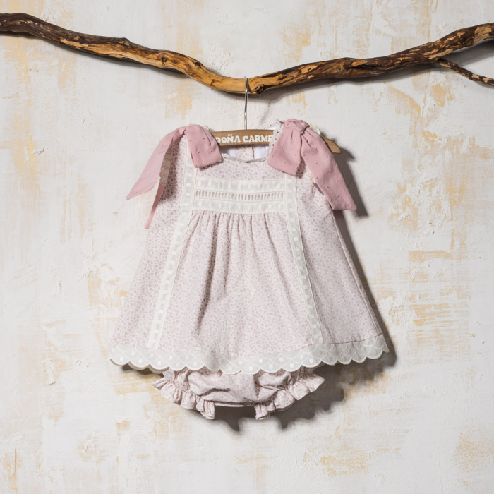 BABY DRESS  FLOWERS YUCA