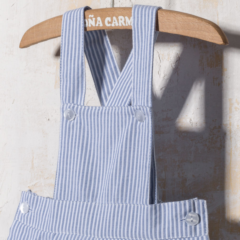 STRIPED DUNGAREE MARSELLA