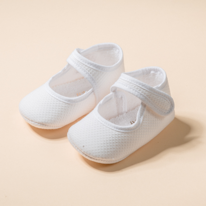PIQUE BABY LITTLE MARY JANE SHOES