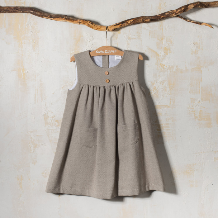 SLEEVELESS WINTER DRESS JASPE