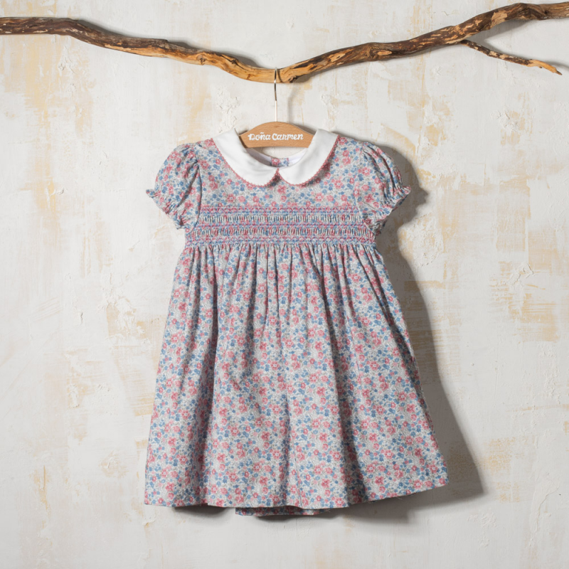 SMOCKED DRESS FORTUNA