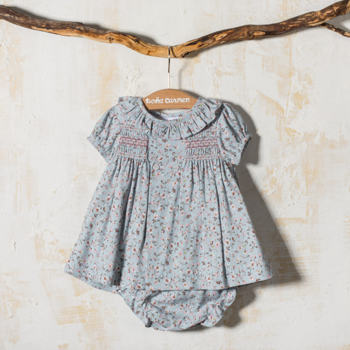 GIRL DRESS WITH BLOOMERS CARMIN