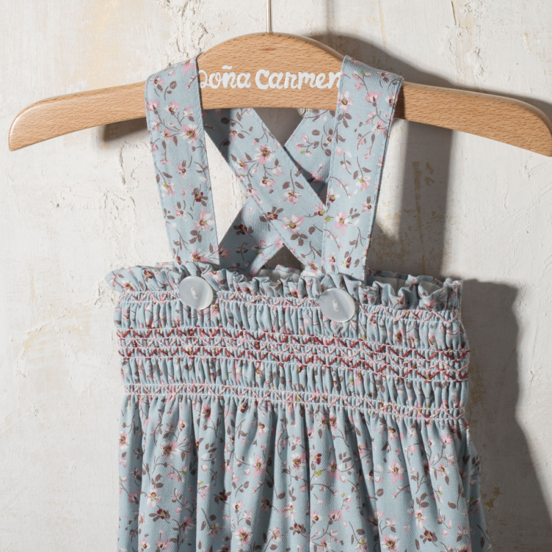 BABY ROMPER WITH BRACES CARMIN