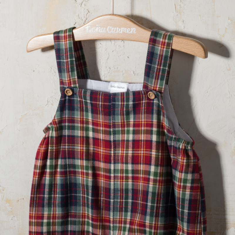 BABY ROMPER WITH STRAPS  LIBRO