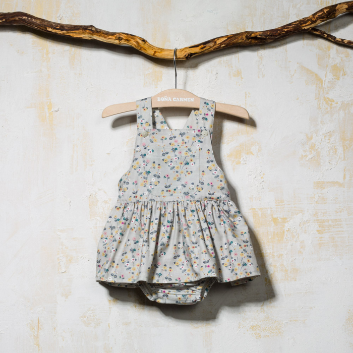 FRILLY DUNGAREE LILIPUT